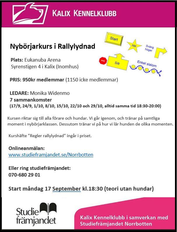Nybörjarkurs rally STOR