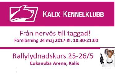 Föreläsning & Rallykurs i Maj